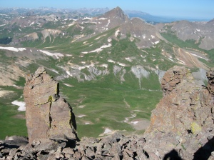 Uncompahgre Peak hiking