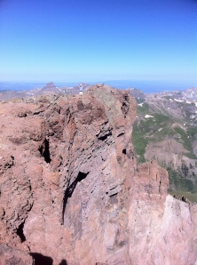 Top of Uncompahgre Peak, Colorado